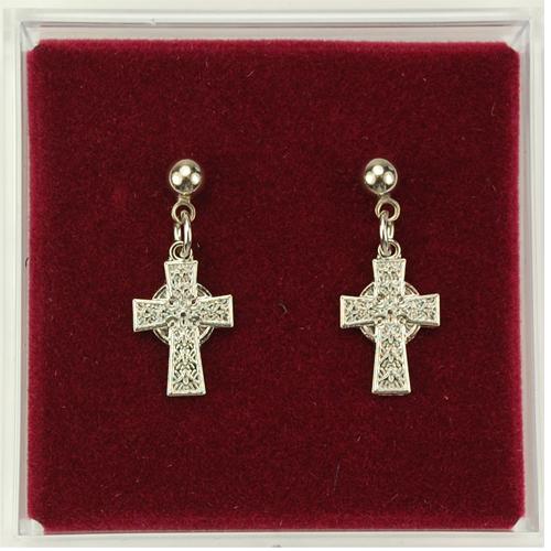 Rf Celtic Cross Earrings