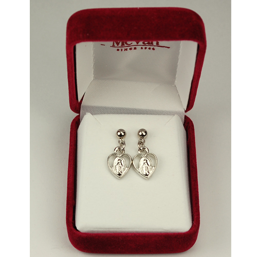 Rf Heart Miraculous Earrings
