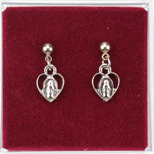 Rf Miraculous Heart Earrings