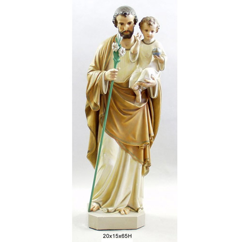 Saint Joseph with Child & Lily 65