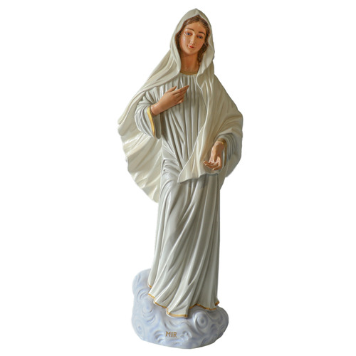 Large Our Lady of Medjugorje Statue 47-inch