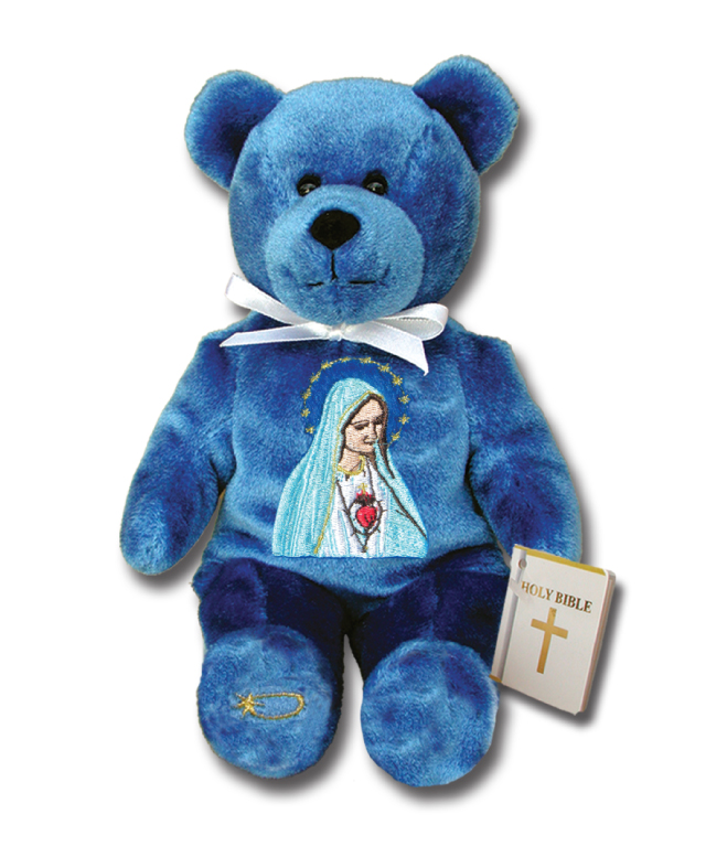Our Lady Of Fatima Holy Bear