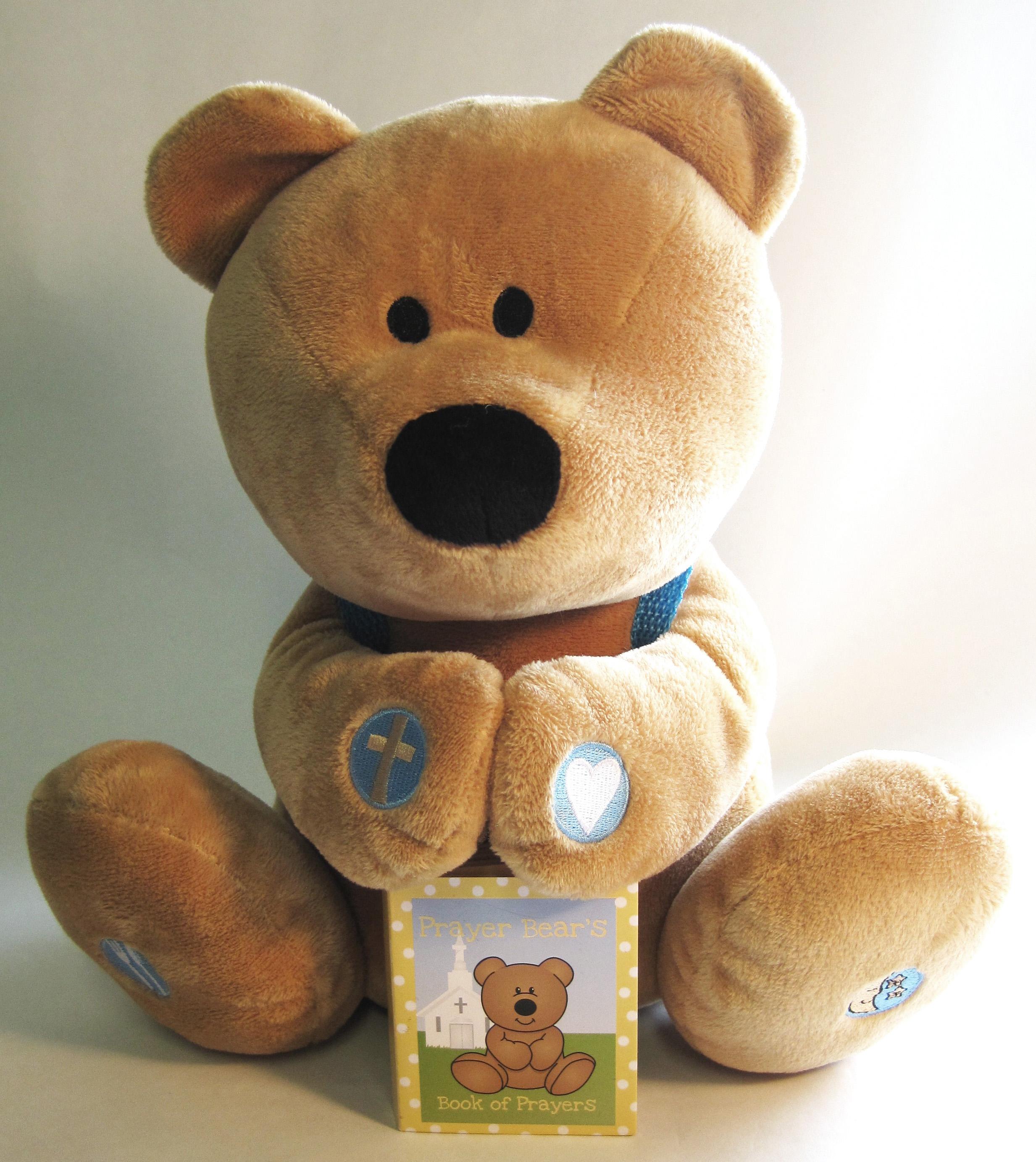 Plush Prayer Bear