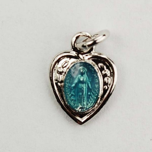 Sterling Sil Miraculous Heart