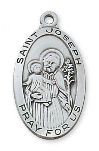 Sterling Silver St Joseph