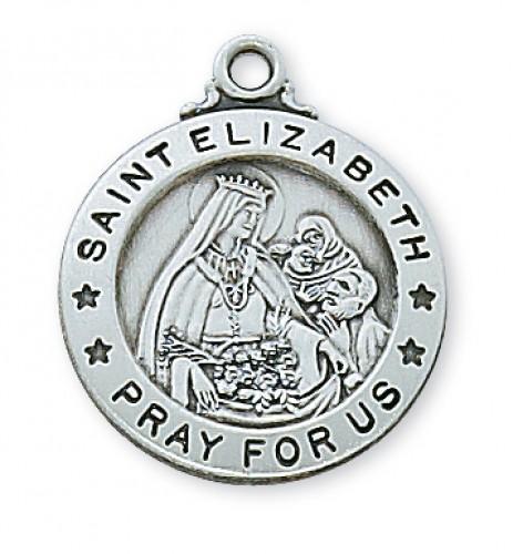Pewter St Elizabeth Medal
