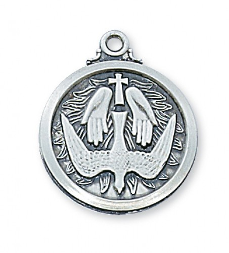 Sterling Silver Holy Spirit 20Chain & Box""