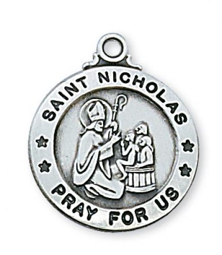 Pewter St Nicholas Medal