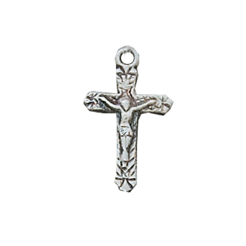 Sterling Silver Baby Crucifix 13 Bt""