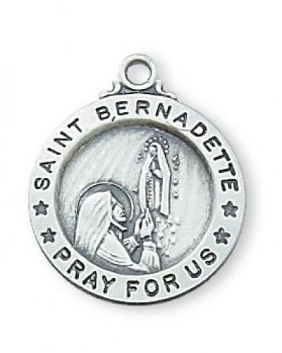 """Ss. Bernadette 18"""" Chain & Box"""