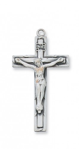 Sterling Silver Crucifix with Chain