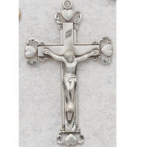 Sterling Silver Crucifix (Med L5Hx)