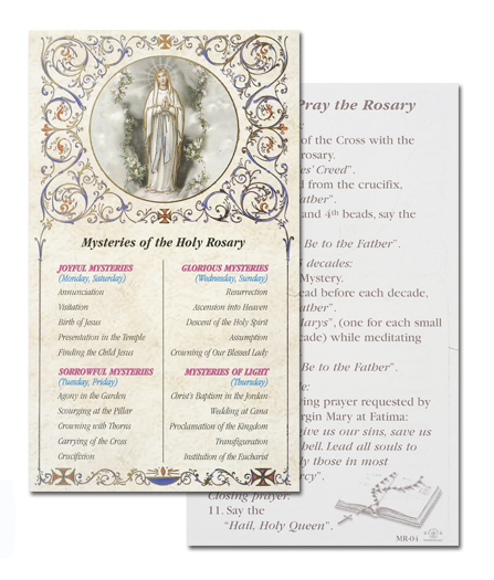 100-Pack - Mysteries Of The Rosaries
