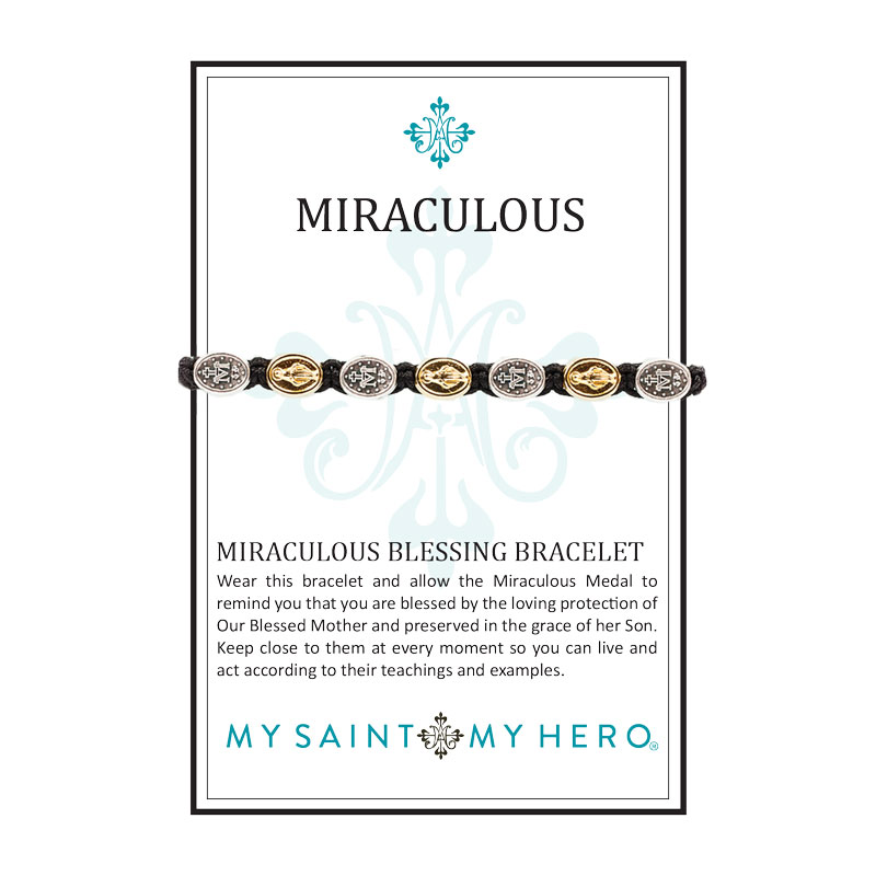 Miraculous Mary Blessing - Mixed Metals