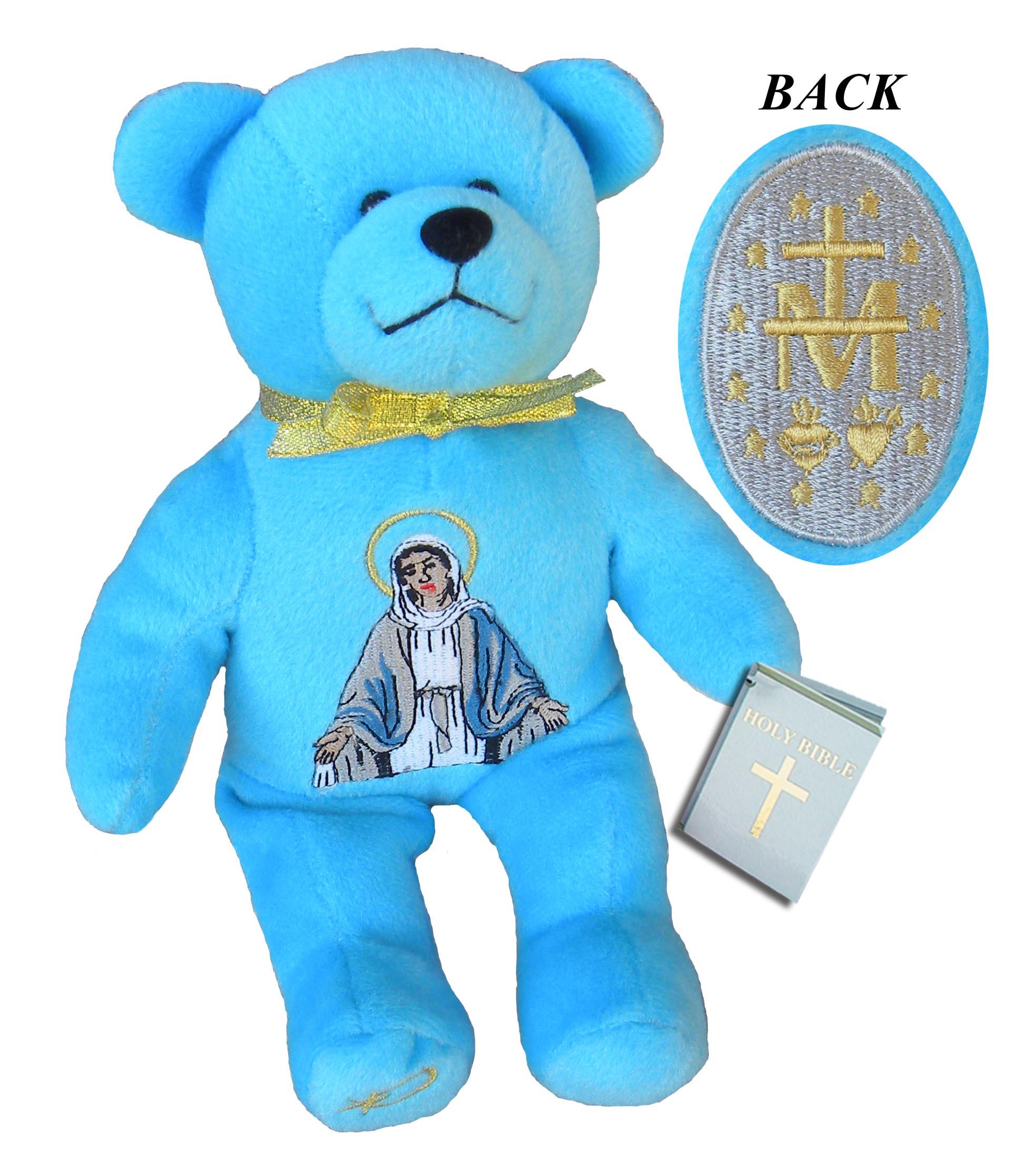 Miraculous Medal Holy Bear