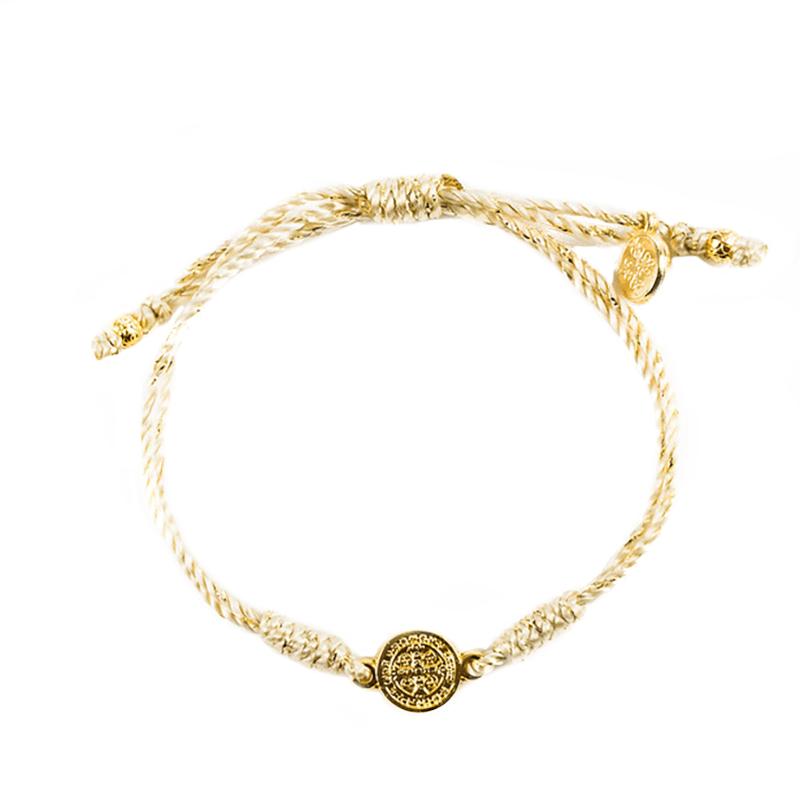 Breathe Blessing Bracelet – MG - Gold