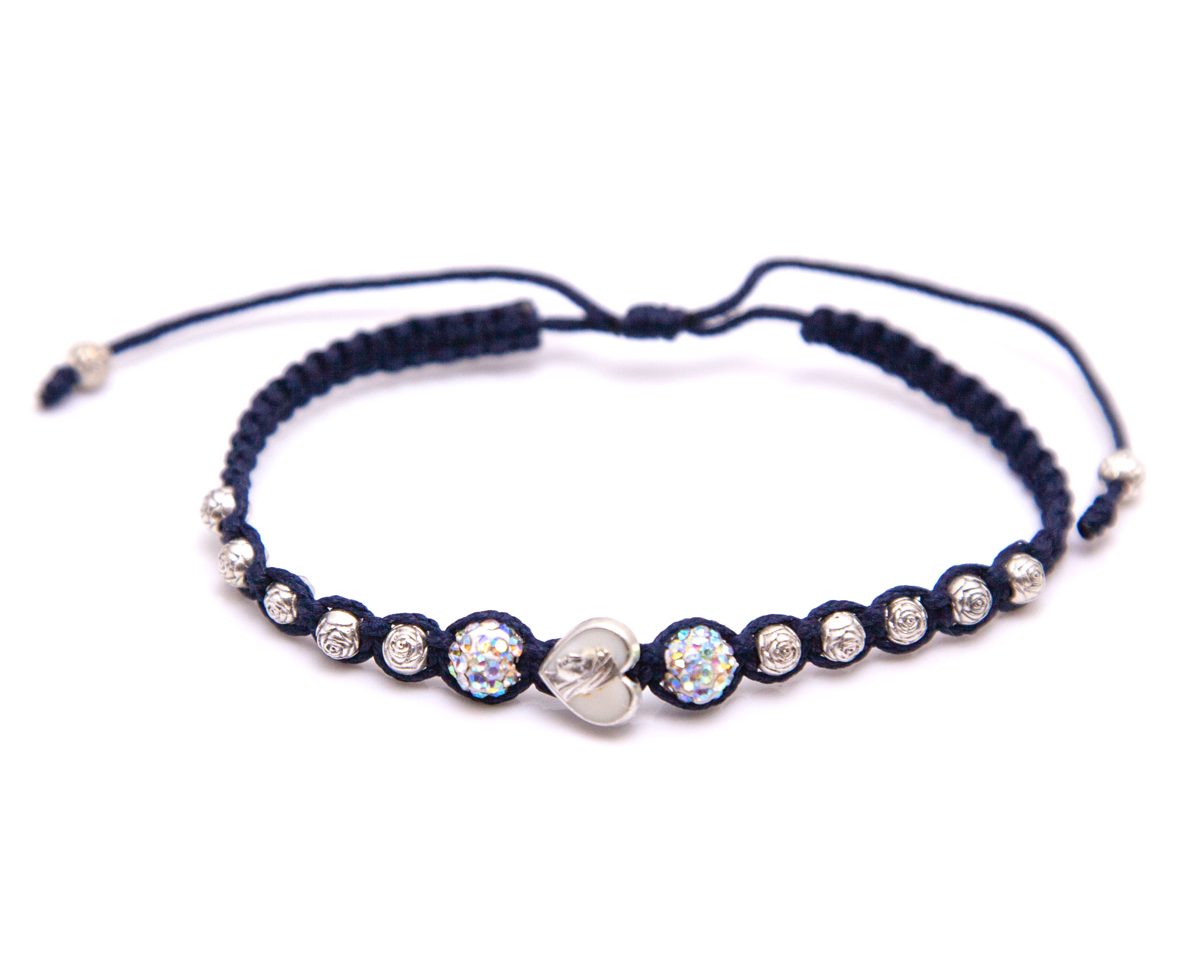 Our Lady of Roses Rosary Bracelet