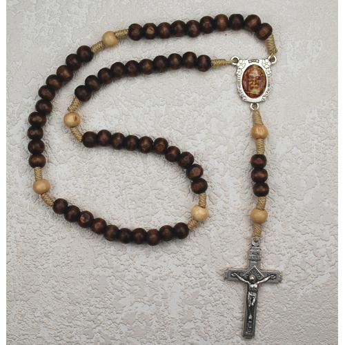 Brn Shroud Of Turin Rosary