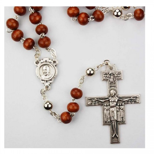 New 6MM Pope Francis Rosary