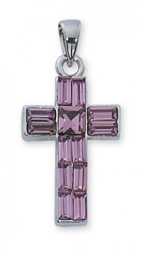 "18"" Purple Cross Boxed"""