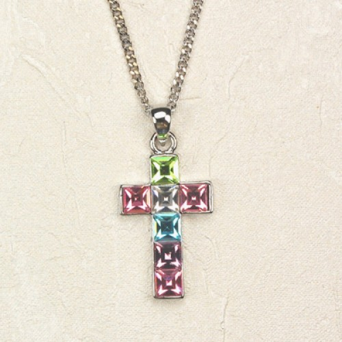 Multi Color Cross/Carded""