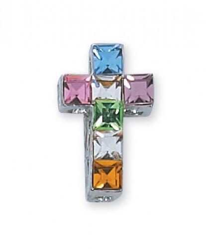 Multi Color Cross Boxed