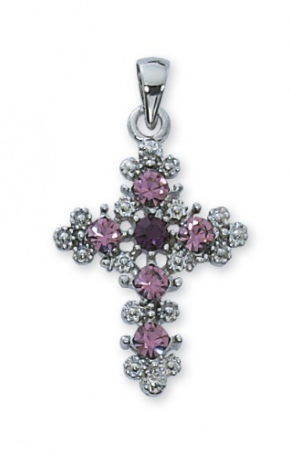 Purple Cross Boxed