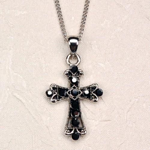 Black Crystal Crosscarded