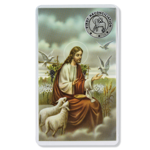 1St Reconciliation Pin/Card Se