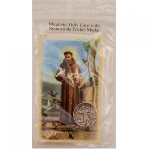 St Francis Magnet/Pocket Piece