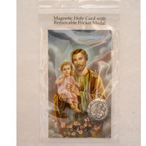 St Joseph Magnet/Pocket Piece