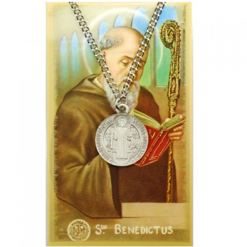 St. Benedict Prayer Card Set