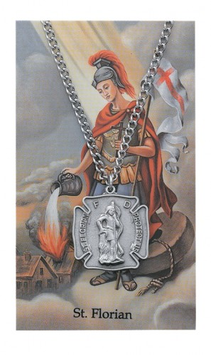 St Florian Prayer Card Set