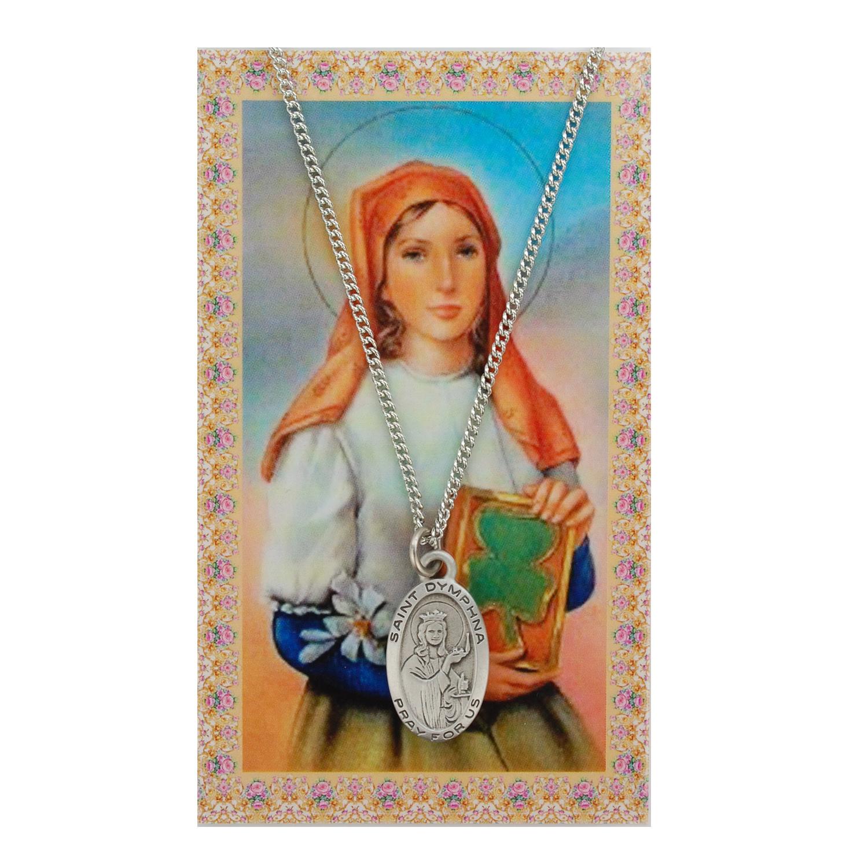 St Dymphna Prayer Card Set