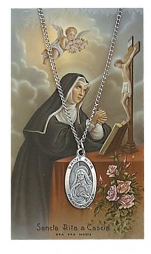 St Rita Prayer Card Set