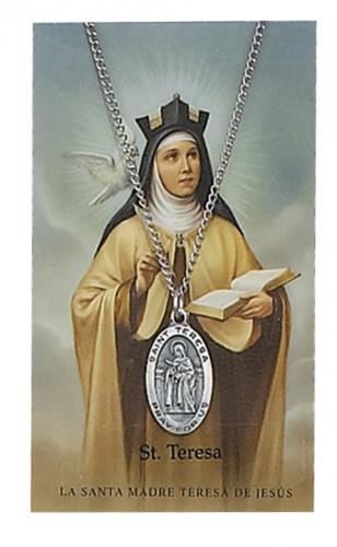 St Teresa Avila Prayer Cardset