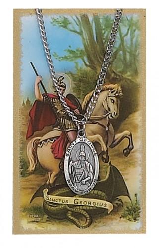 St George Prayer Card Set