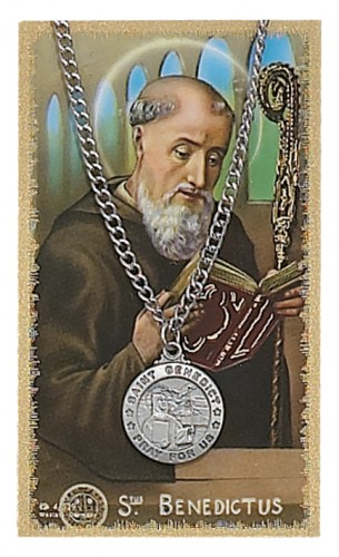 St. Benedict Prayer Card Set