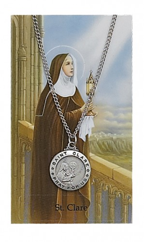 St Clare Prayer Card Set