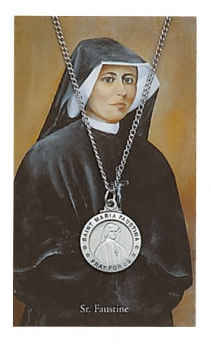 St Maria Faustina Prayer Card Set