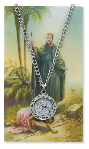 St Francis Xavier Pryr Crd Set
