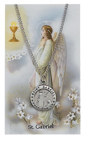 St Gabriel Prayer Card Set