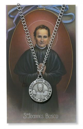 St John Bosco Prayer Card Set