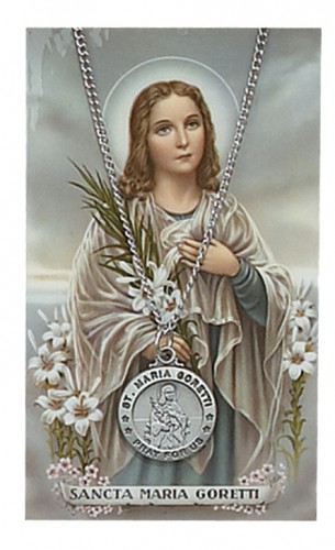 St Maria Goretti Prayer Card Set