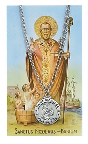 St Nicholas Prayer Card Set