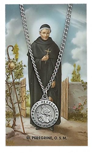 St Peregrine Prayer Card Set