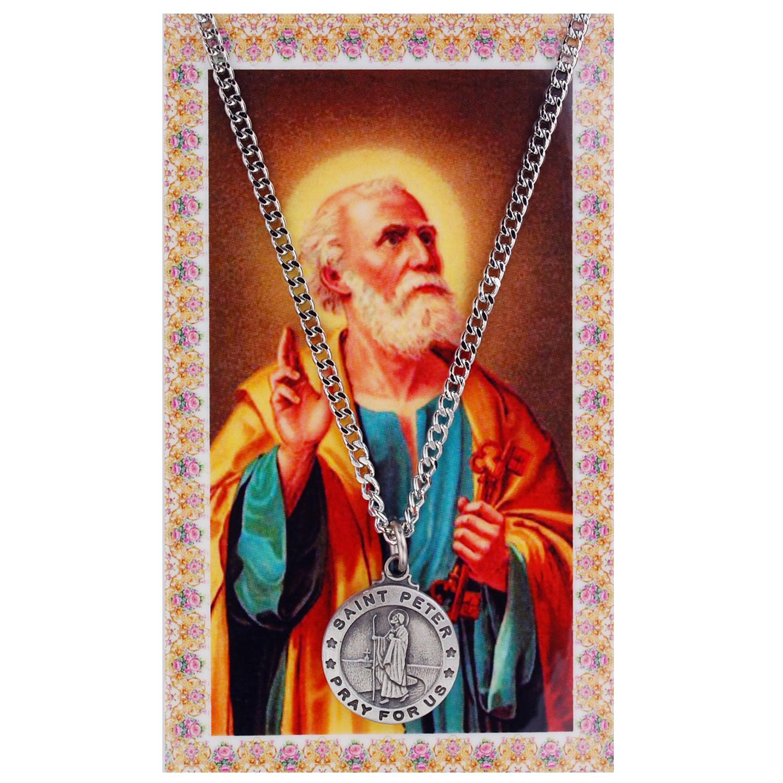 St Peter Prayer Card Set