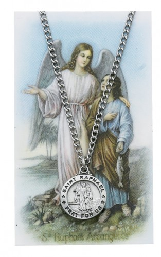 St Raphael Prayer Card Set