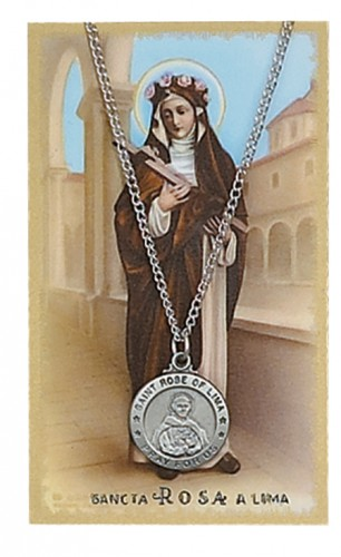 St Rose Lima Prayer Card Set