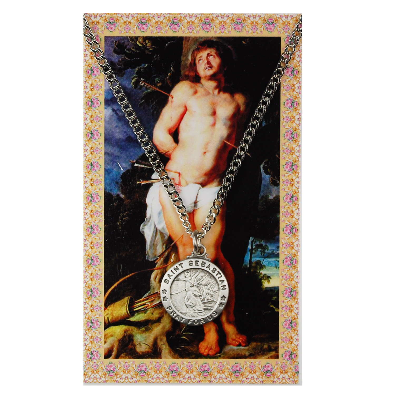 St Sebastian Prayer Card Set